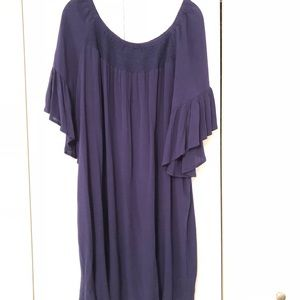 ANA navy blue cover up